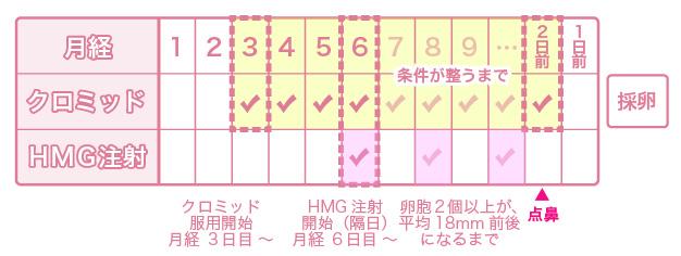 クロミッド法採卵(簡易採卵・低刺激採卵)による体外受精を受けられる方へ - 名古屋不妊治療山口レディスクリニック
